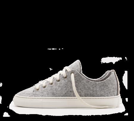ZUZII FOOTWEAR WOOL LOWTOPS - GREY