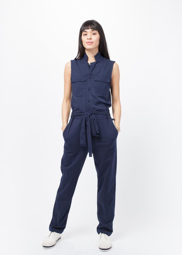 Harvey Faircloth Sleeveless Jumpsuit