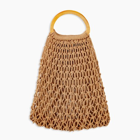 Fam Ilani Woven Bag - Natural