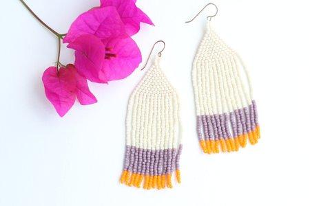 Kisiwa Large Shanga Earrings