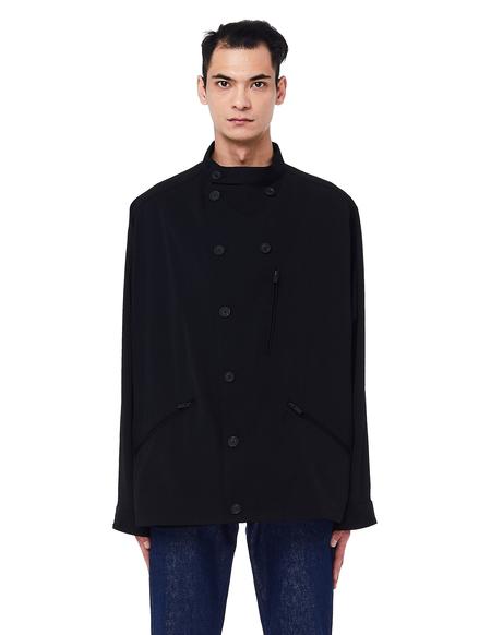 Yohji Yamamoto Double Breasted Jacket - Black