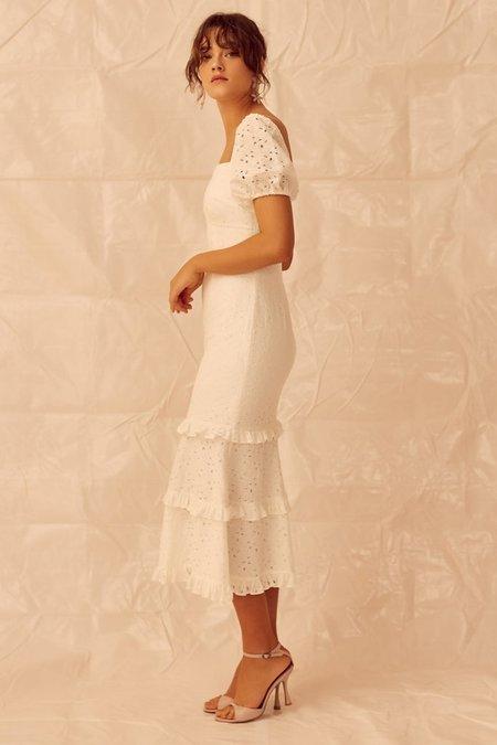 Keepsake Higher Lace Dress - Ivory
