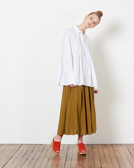 Kowtow Pages Shirt - White