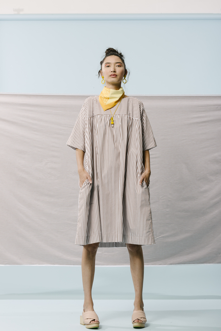 Carleen Michel Tent Dress in Earth