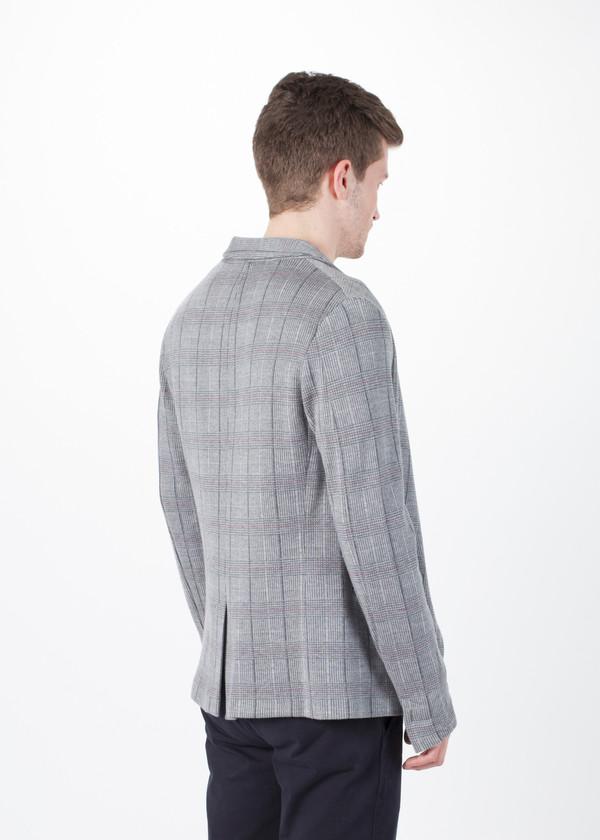 Men's Avant Toi Unstructured Plaid Blazer