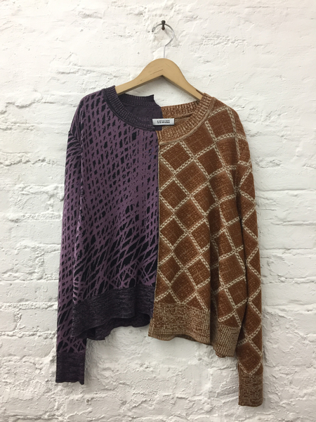 A Détacher Kenny J Pullover in Jaquard Multi