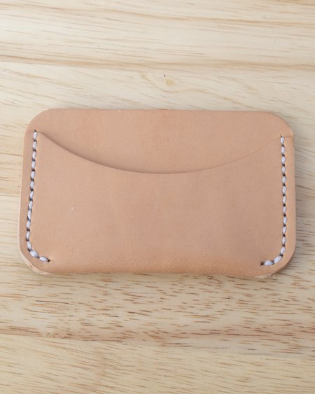 Foxtrot Supply Co. Simple Wallet - Natural