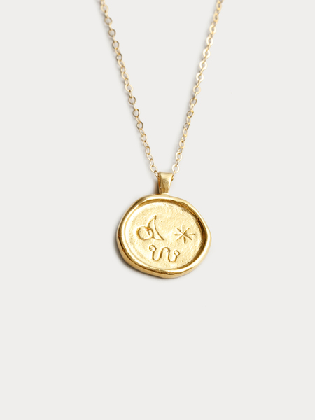 Wolf Circus Miro Necklace in Gold