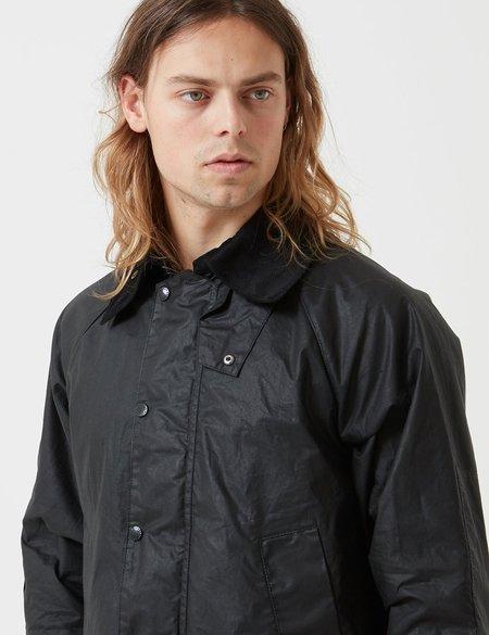 Barbour x Engineered Garments Wax Graham Short Jacket - Black