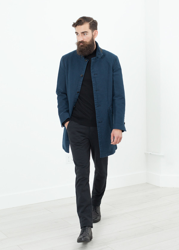 Men's Hannes Roether Zig Coat in Evening
