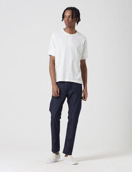 Edwin ED-55 Kingston Blue Denim Tapered Jeans 12oz - Blue Rinsed
