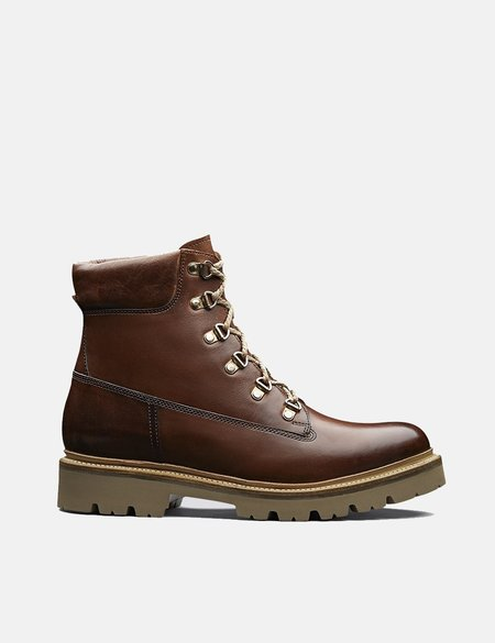Grenson Hand Painted Rutherford Boot - Tan