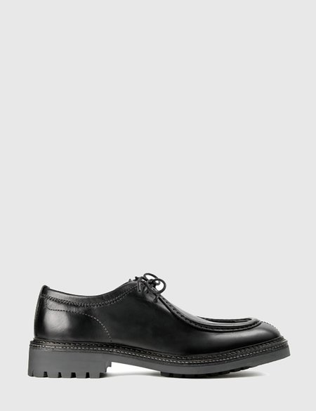 Hudson Penn Leather Shoes - Black