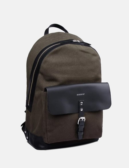 Sandqvist Andor Backpack - Beluga Green