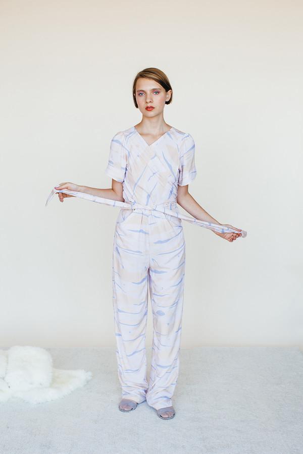 Vortex Jumpsuit - Landscape Print