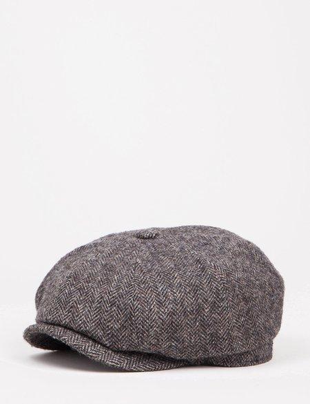 Stetson x Woolrich Hatteras Newsboy Cap - Grey