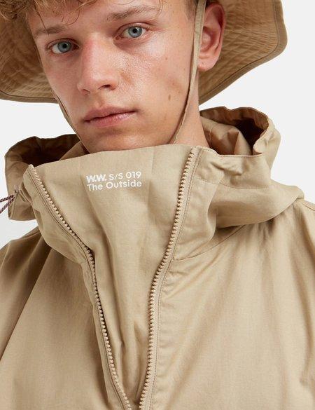 Wood Wood Laszlo Jacket - Light Khaki Beige