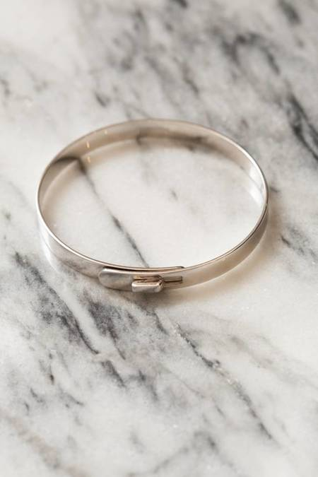 Miansai Standard Cuff Bracelet - Silver