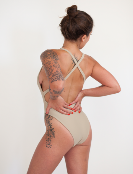 The Saltwater Collective Christina One Piece - Crepe