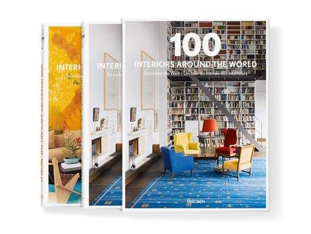 Taschen 100 Interiors Around the World Book