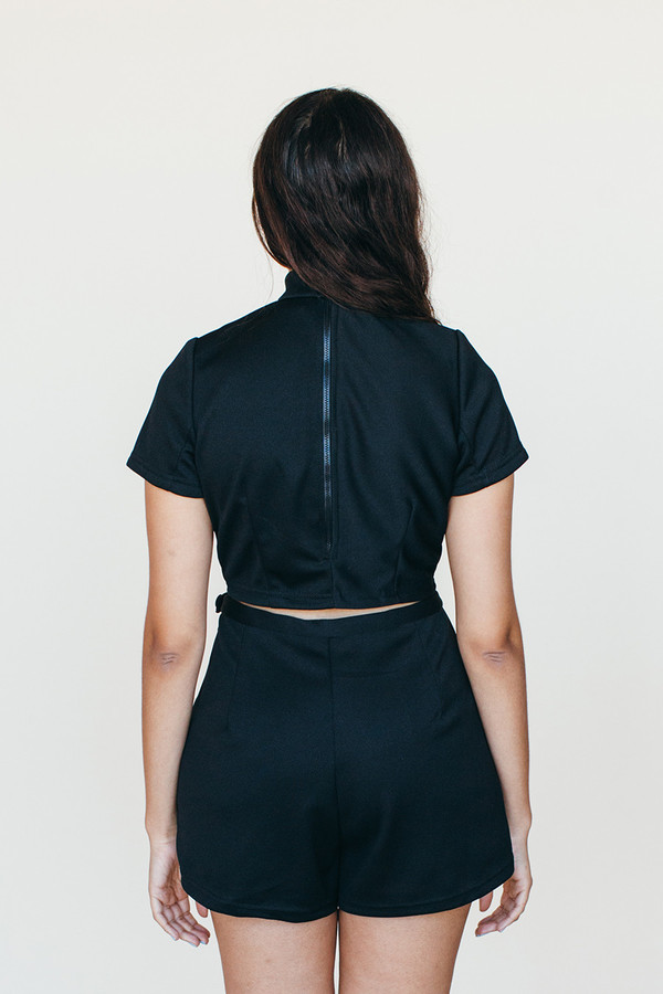 Samantha Pleet Shooting Star Shorts - Black