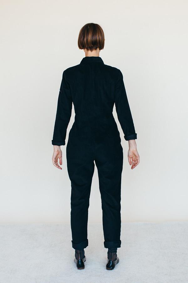 Samantha Pleet Space Suit - Black Corduroy