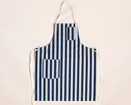 Stanley & Sons Cloth Strap Standard Apron - Wide Stripe