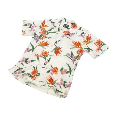 Gitman Bros Gitman Vintage Aloha Camp Shirt - White