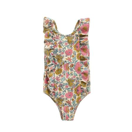 KIDS Louise Misha Bermude Swimsuit - Multi Flowers