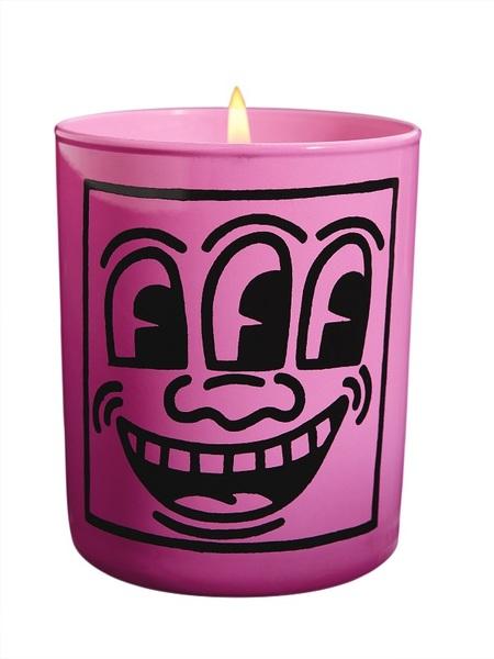 Keith Haring Candles Bougie Muguet/jasmin/musc