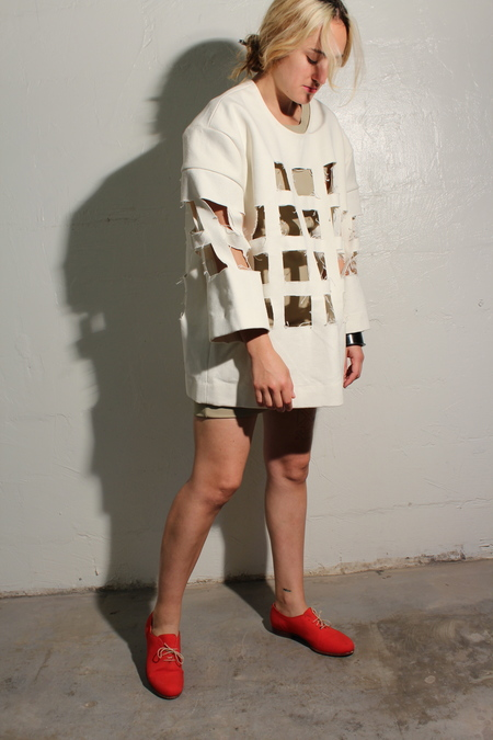 Nancy Stella Soto Recycled Canvas Shell
