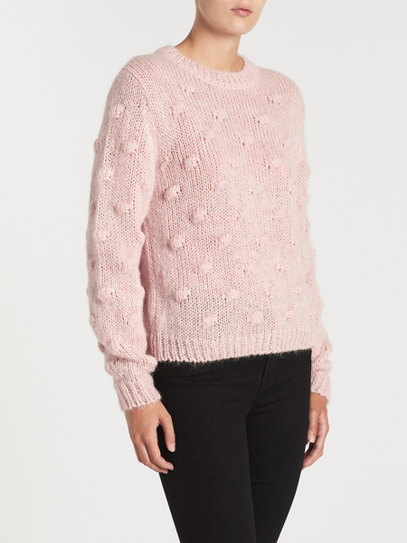 MiH Jeans Avon Sweater - Fluffy Pink