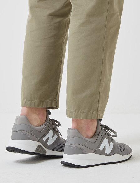 New Balance 247 Sport Core+ Trainers - Grey/Teal