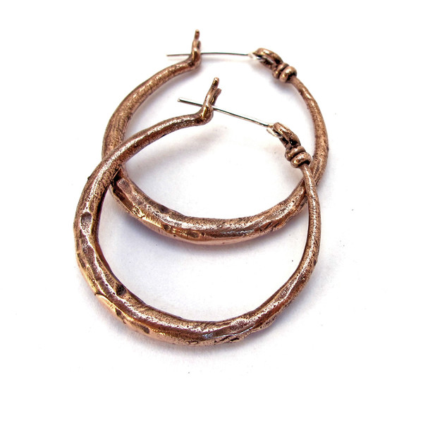 Laurel Hill Knotted Hoops