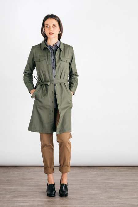 Bridge & Burn Keller Coat - Olive