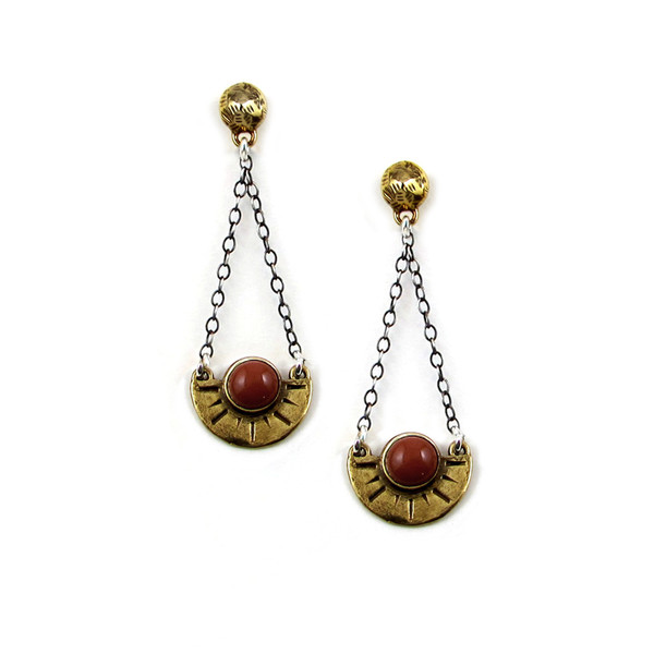 Laurel Hill Meridian Arc Earrings