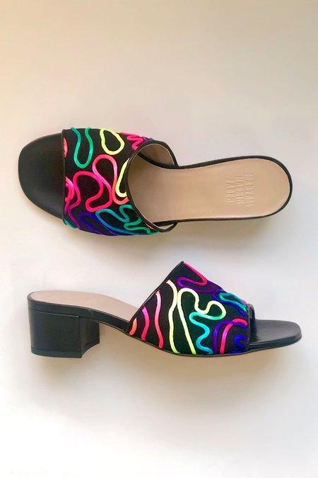 Maryam Nassir Zadeh Agatha Slide - Neon Sketch