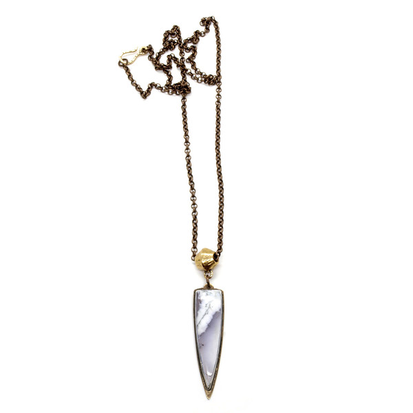 Mirage Necklace // Dendritic Agate