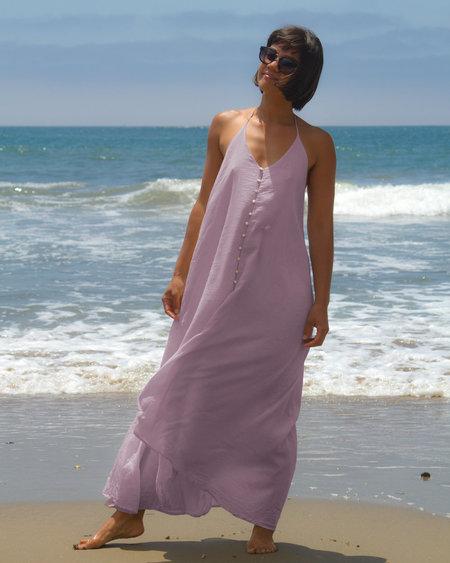 Petit Mioche Voile Dress - Purple