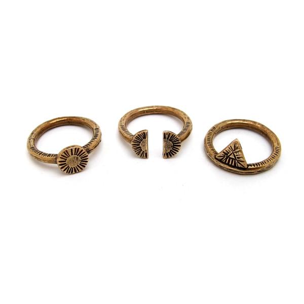 Laurel Hill Relic Ring Set