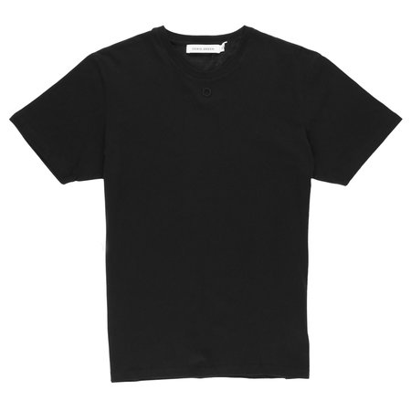 CRAIG GREEN Embroidered Hole T-Shirt - BLACK