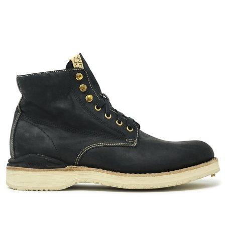 Visvim Virgil Folk Kangaroo Leather Boots - BLACK
