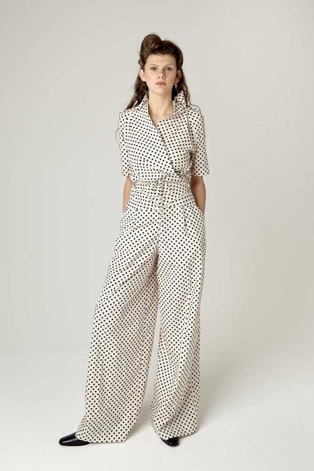 Rachel Mills Multi Dream Short Sleeve Shirt - Harlequin Spot
