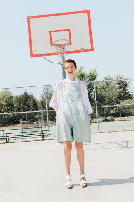 323 PLAY-DATE OVERALLS - SKY