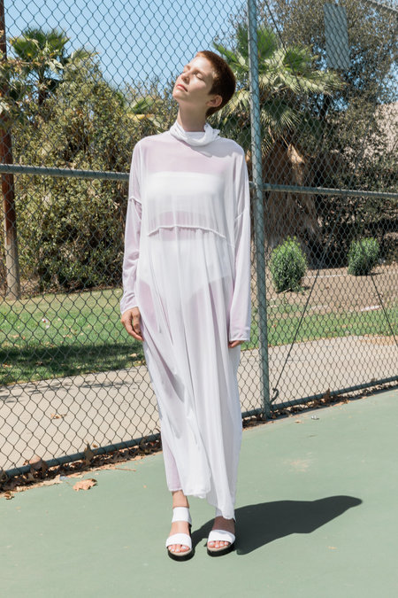 323 DESERT RITUAL DRESS - white