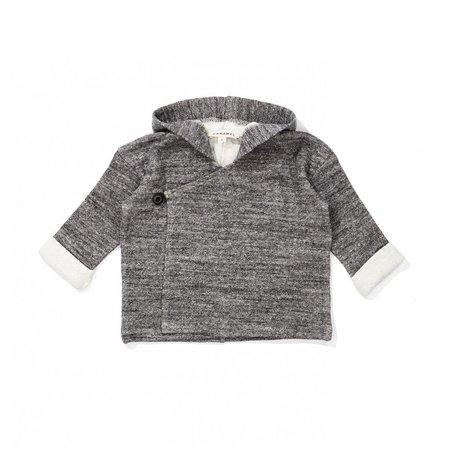 KIDS Caramel Camomile Baby Jacket - Charcoal
