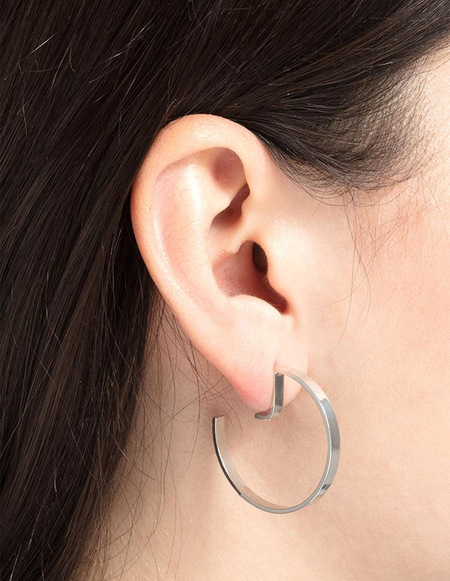 The Boyscouts Earrings Level Round - Silver