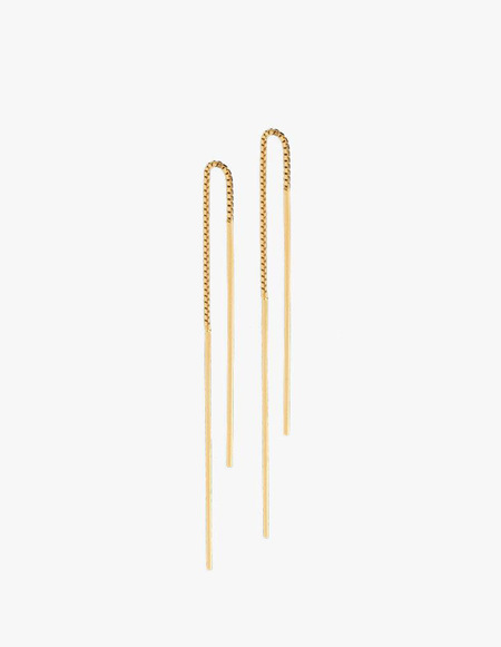 The Boyscouts Earrings Radius Wire - Gold