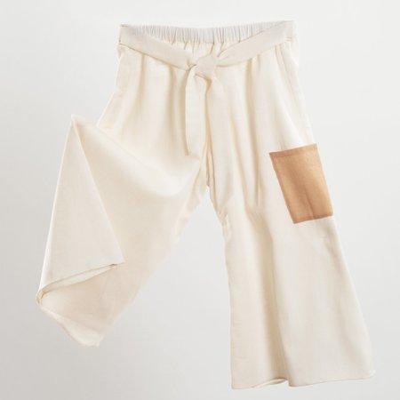 KIDS Petit Mioche cotton pants - NATURAL