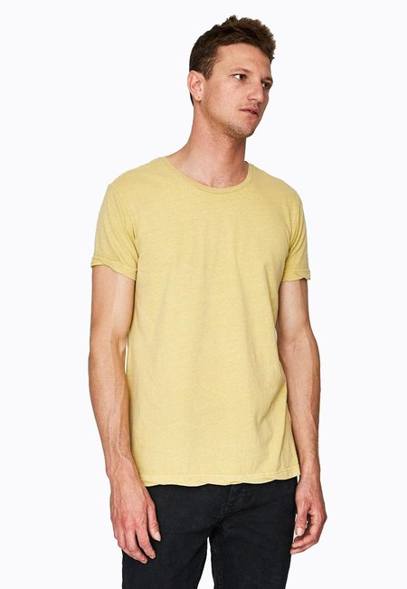 Ksubi Seeing Lines SS Tee - Sol Yellow
